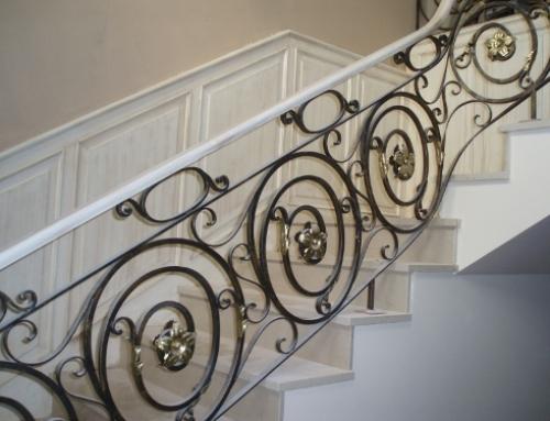 Escadaria com efeito Patine